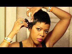 Malinda Williams Mane Taming #17: Trim Your Hairline at Home – YouTube