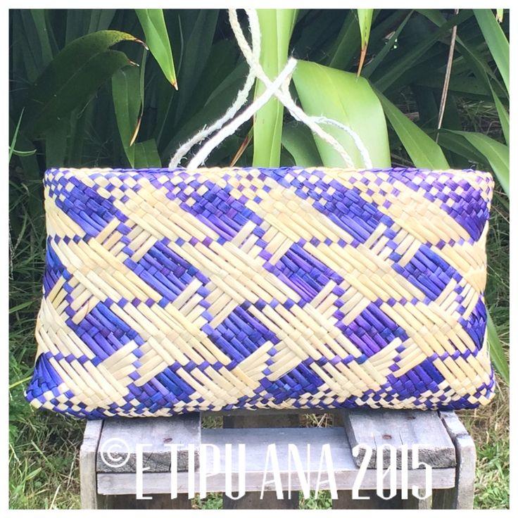 #etipuana_ketewhakairo  Hand woven by julz and em @ E Tipu Ana out of New Zealand harakeke (flax)