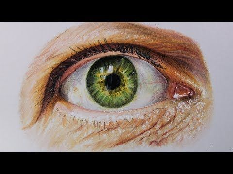 (12) Cómo Dibujar un Ojo realista paso por paso con lápices de colores | How to draw a Realistic Eye - YouTube