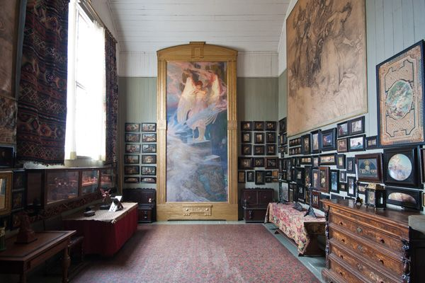 Julius Kronberg's studio, Skansen