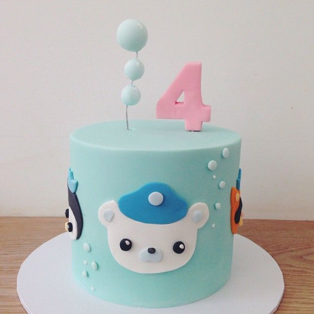 "1,023 Likes, 65 Comments - hello naomi specialty cakes (@hellonaomicakes) on Instagram: ""I have a new contender for cutest cake ever!!! ... imagine an ENTIRE #octonauts dessert table!! I…"""