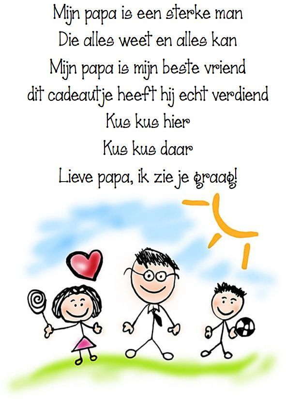 versje papa is een held - Google zoeken