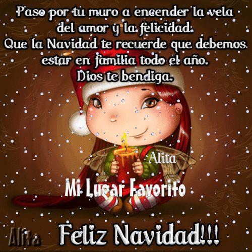 Frases Bonitas de Navidad para Compartir en Facebook - http://goo.gl/eXFzQV