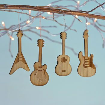 Bamboo Guitar Decorations, great christmas present