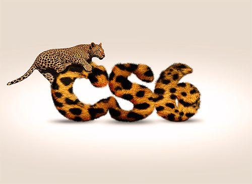 Tuto Photoshop cs6 Pelage léopard sur texte 3D