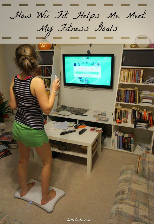 Wii Fit debuted many years ago, but it's still a helpful tool for anyone wanting to improve a sedentary lifestyle. How can the Wii Fit help YOU? | Belle Brita
