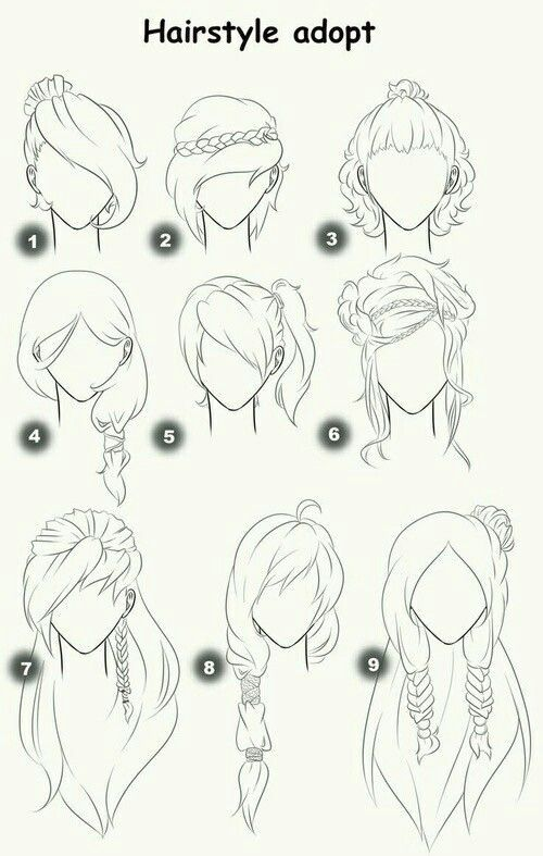 Pin By Trangfig On Drawing In 2019 How To Draw Hair Art Sketches