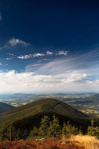 Czech Republic, Beskydy Mountains Photos Milan Sofer . Pohled na Velkou Stolovou