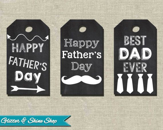 cute father's day decorations
