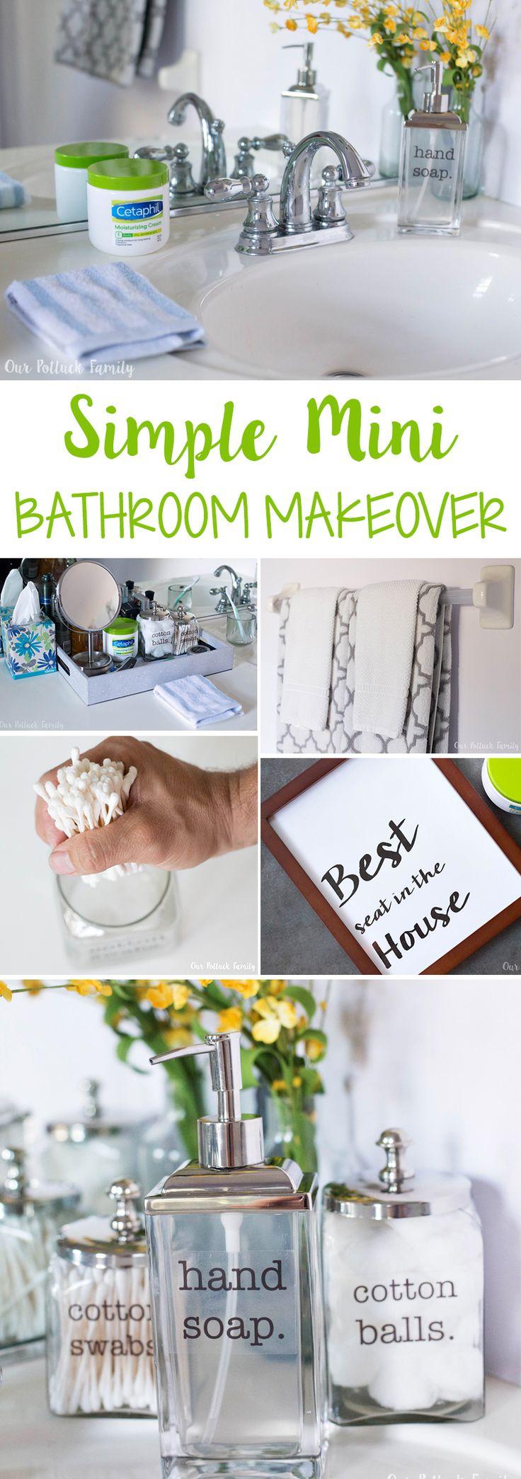 Bathroom Makeover Johannesburg the 25+ best ideas about simple bathroom makeover on pinterest