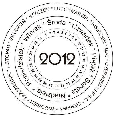Kalendarz na okrągło