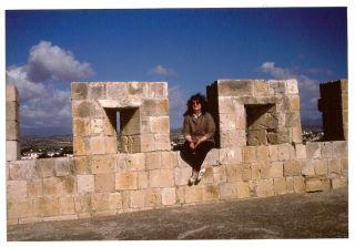 Cipro - Castello di Kolossi - inverno '95/'96