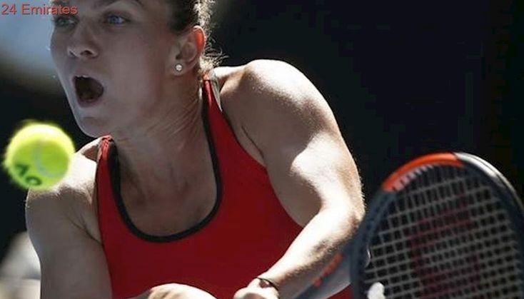 Halep batters Pliskova to set up Kerber semifinal