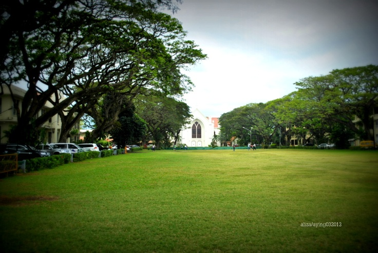Silliman University in Dumaguete. It's still a long  way to go but I'm planning on enrolling in the Medical school here. :)