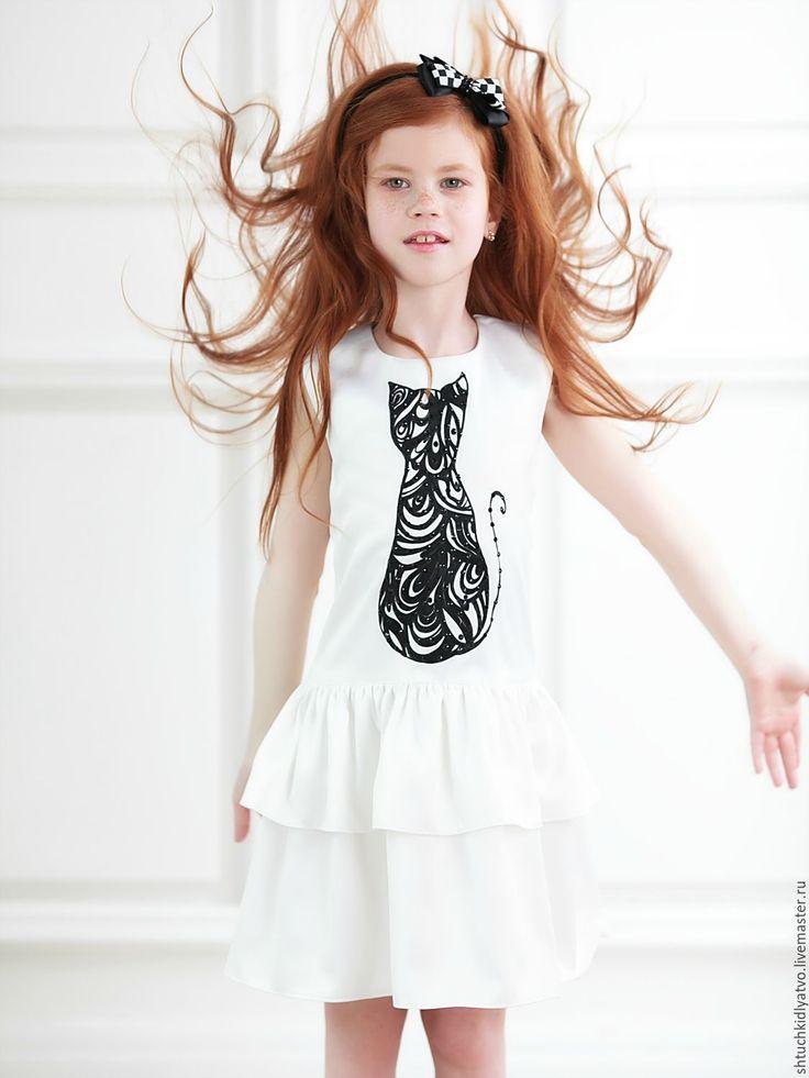 Hand printed dress