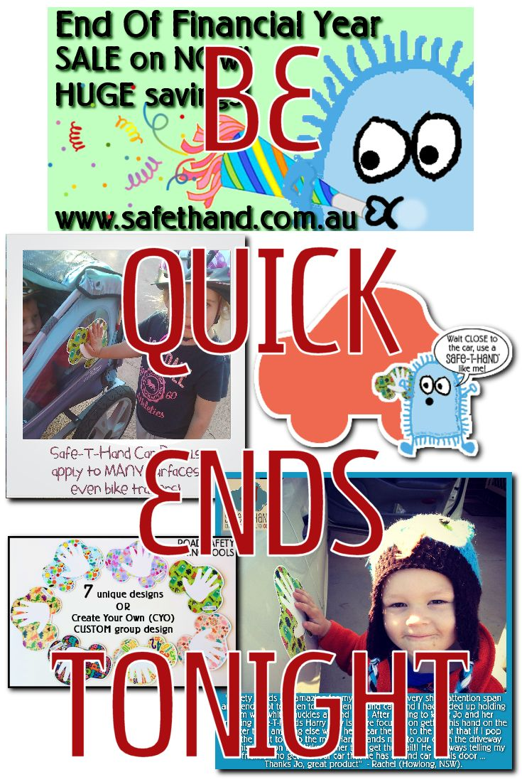 ** EOFY PRICES **  FUN Road Safety Teaching Tools for Parents/Guardians/Educators.  #road #safety #kid #education #eofy #sale  www.safethand.com.au