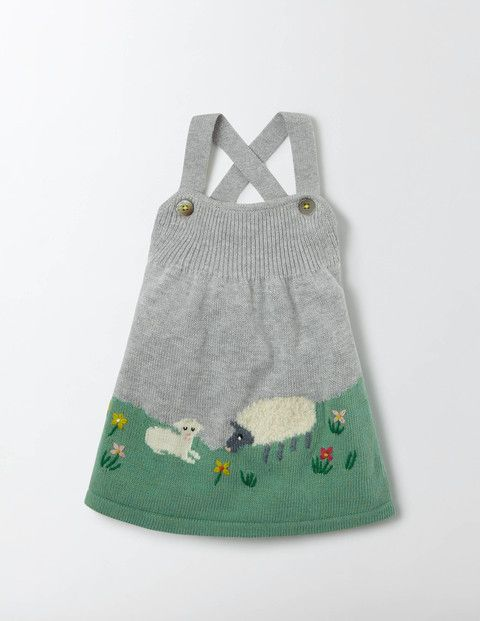 FARMYARD KNITTED DRESS