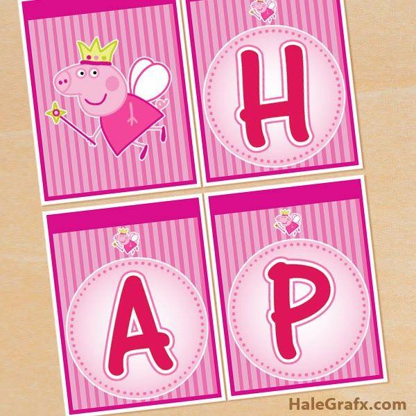 Peppa Pig Hada: Banderines de