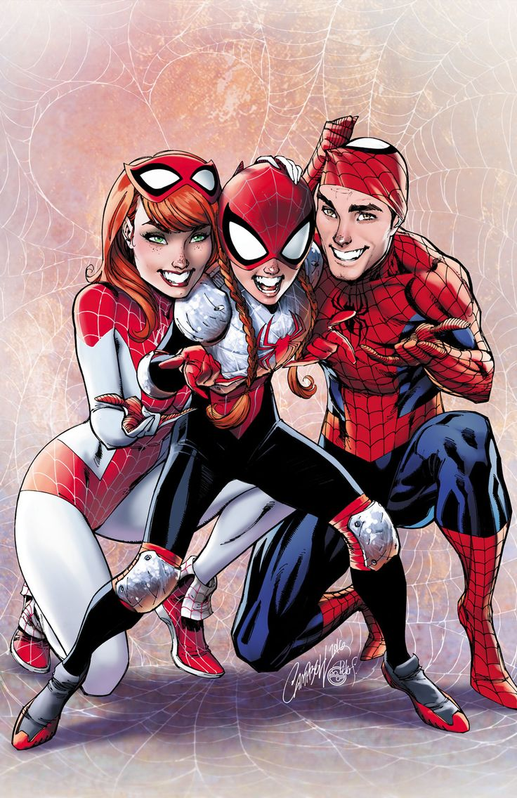 The Amazing Spider-Man: Renew Your Vows #2 (2016) Variant Cover by J. Scott Campbell