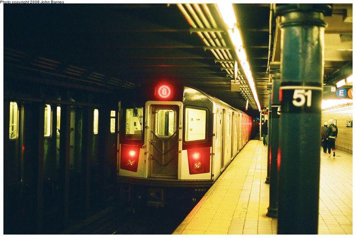 (269k, 1044x699)<br><b>Country:</b> United States<br><b>City:</b> New York<br><b>System:</b> New York City Transit<br><b>Line:</b> IRT East Side Line<br><b>Location:</b> 51st Street <br><b>Route:</b> 6<br><b>Car:</b> R-142A (Primary Order, Kawasaki, 1999-2002)  7391 <br><b>Photo by:</b> John Barnes<br><b>Date:</b> 3/2/2008<br><b>Viewed (this week/total):</b> 3 / 2659