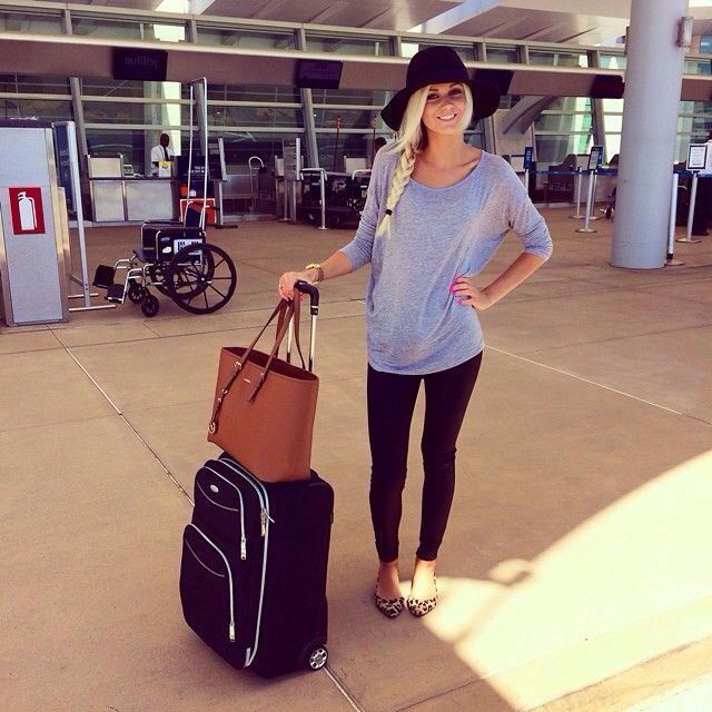 cool Casual travel outfit...