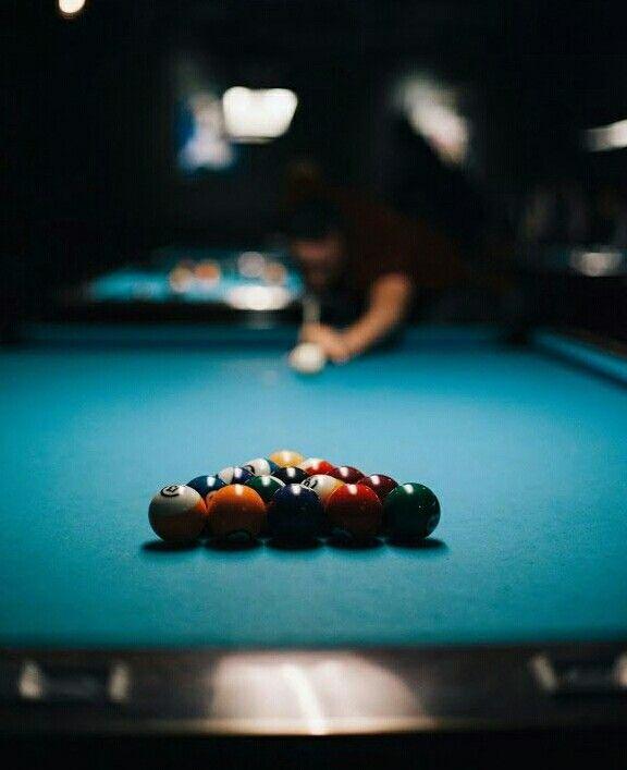 shooting pool. let the game begin!!! enjoy