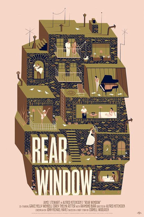 Rear Window by Adam Simpson