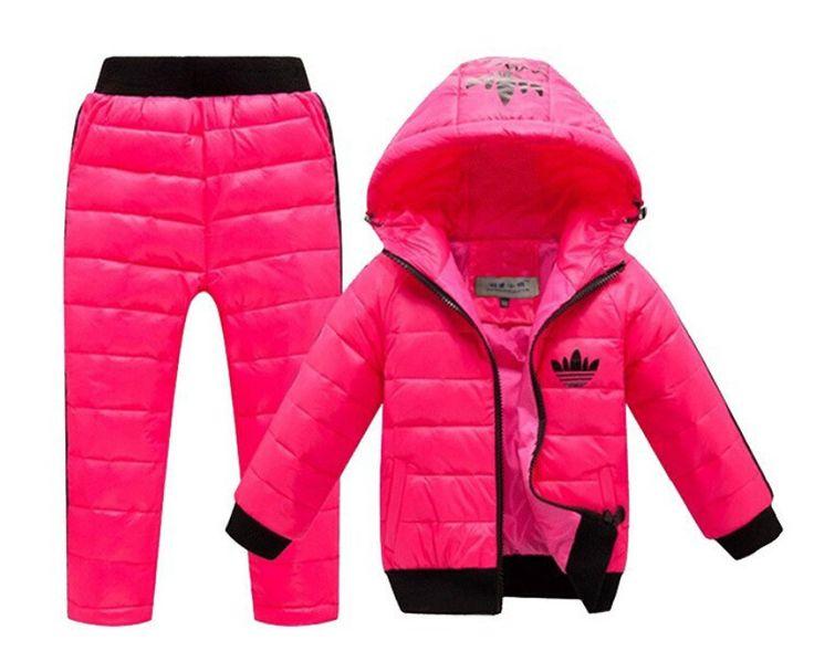 C$ 29.44 Enfants Ensemble Garçons filles Vêtements définit hiver 2-huit  années sweat à
