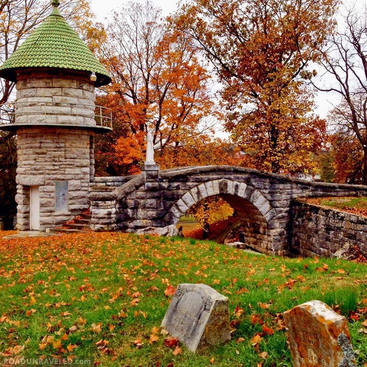 Thornrose Cemetery, Virginia #Foliage #LoveVA