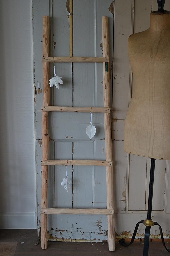 25 beste idee n over houten ladder op pinterest houten for Houten decoratie boom