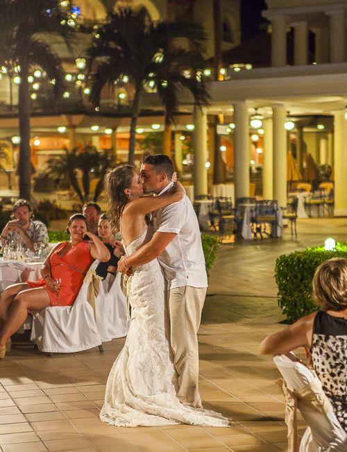 Bride Grooms First Dance At Their Destination Beach Wedding Photography By Fun
