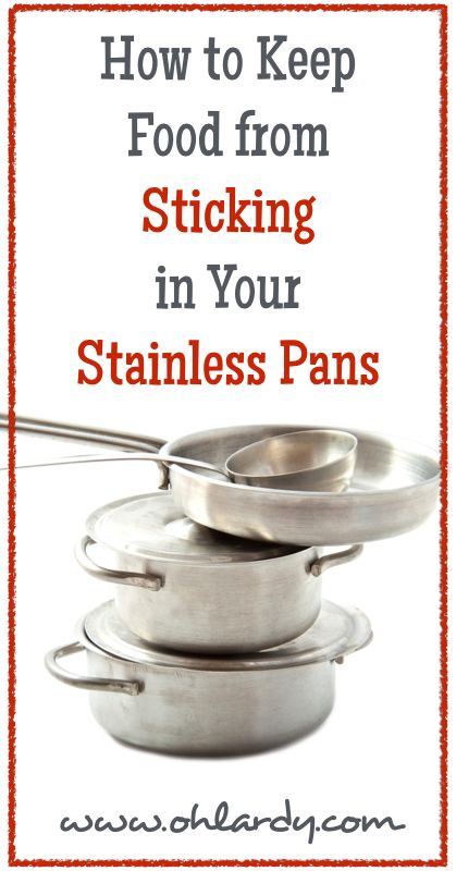 How To Season Food Network Stainless Steel Pans
