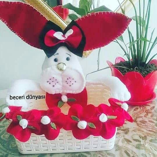 Tavşan kırmızı banyo,çocuk odası , mutfak için aksesuardır