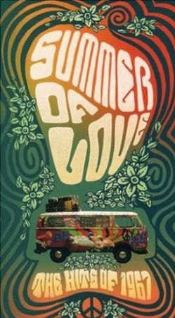 1967 - the summer of love  I like the trippy font design and patterns used