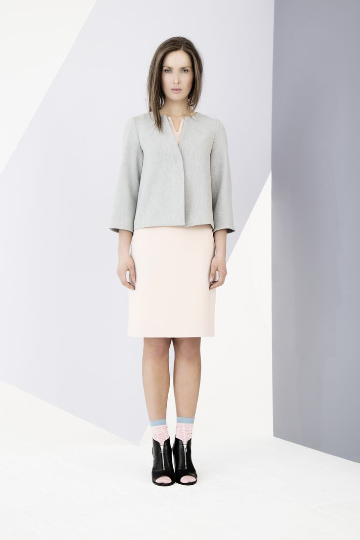 Expertly tailored dress and jacket by Carolyn Donnelly The Edit