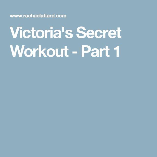 Victoria's Secret Workout - Part 1