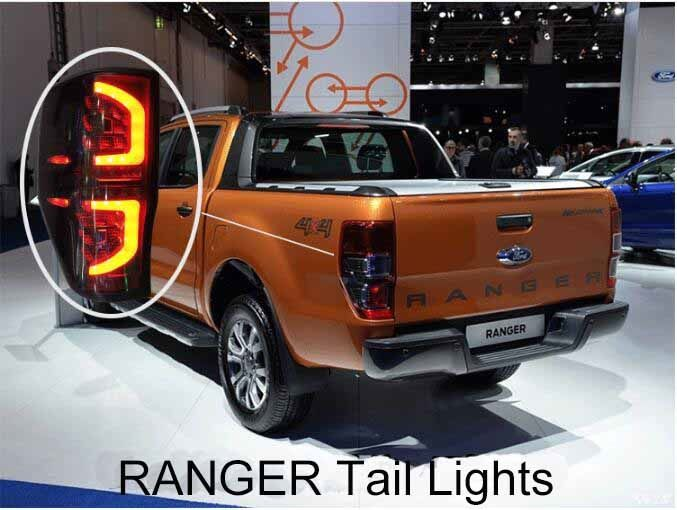 269.00$  Watch now - http://alieqh.worldwells.pw/go.php?t=32784435660 - Brake LED TAIL LAMP For Ford RANGER 2012 2013 2014 2015 269.00$