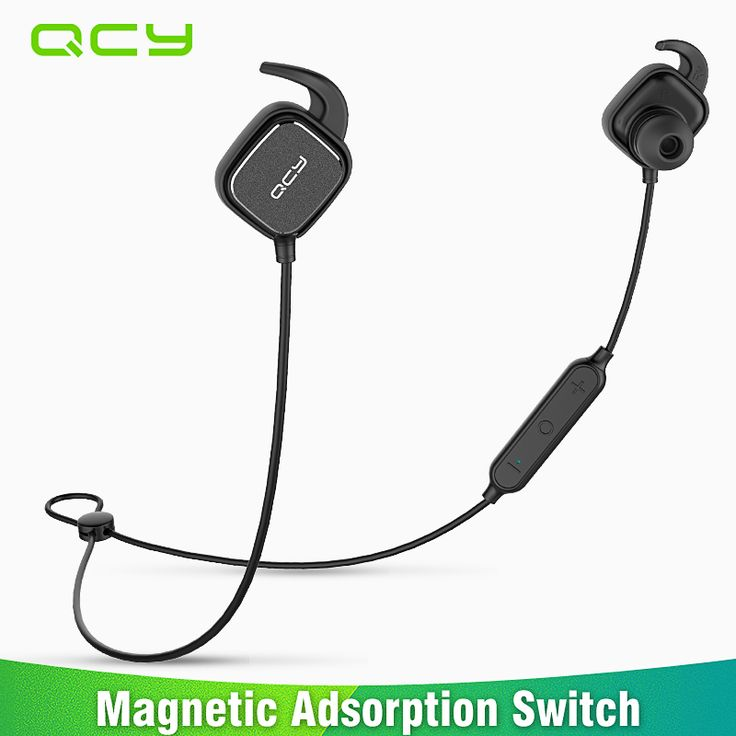 Wireless Bluetooth Earphones Original QCY QY12 Headset with Mic for Xiaomi iphone Auriculares Bluetooth Headphones Earbuds