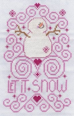 another cross stitch addict: It's cold out here...