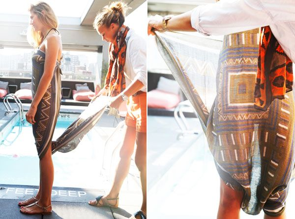 How To Tie a Sarong - Different Ways To Wear a Sarong