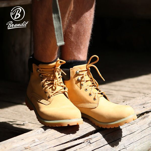 Fashionable Brandit Kenyon Boots come with breathable soft suede leather  upper and robust rubber sole 5eb131664b