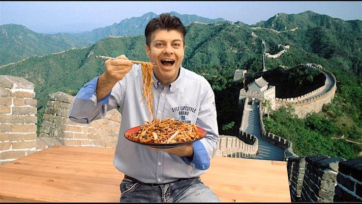 Nejlepší  čínské   smažené nudle recept (Chow mein recept)