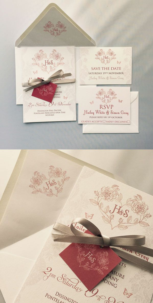 httpswwwetsycomuklisting248328195 Wedding Stationery SetsWedding InvitationsTable