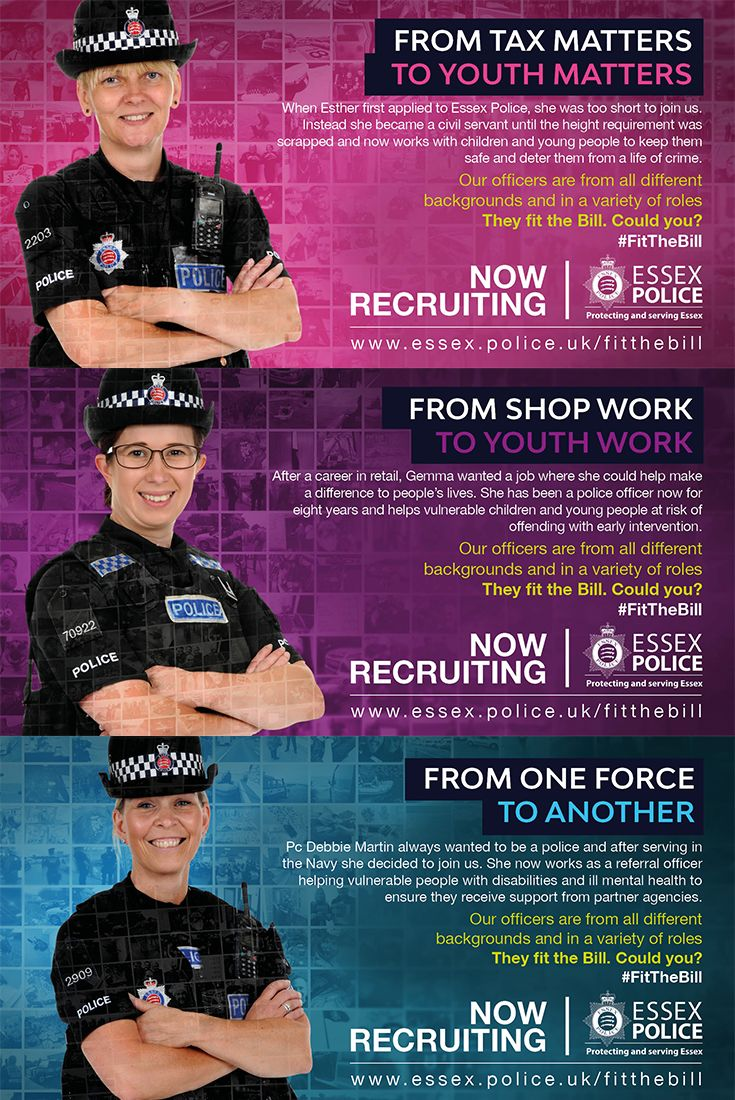Our officers work in a variety of specialist roles to protect different communities in Essex. From working with children and young people to working with people with welfare concerns, our officers work within Community Policing Teams with partner agencies to ensure the safety of vulnerable people in their community. They fit the bill, could you?
