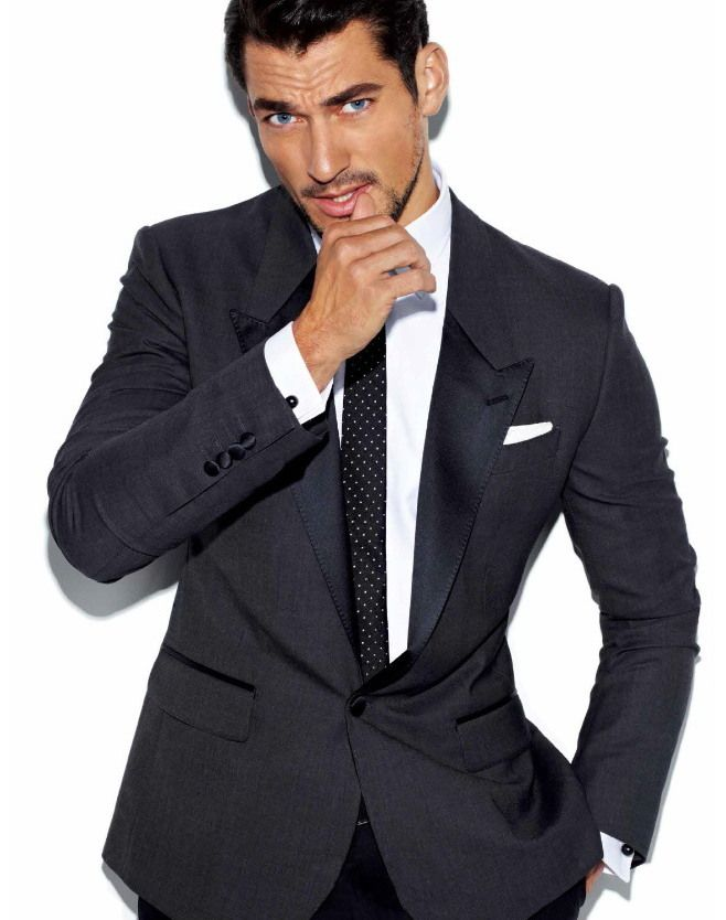 David Gandy is the Ultimate Dolce & Gabbana Icon for 7 Hollywood Magazine Cover Story
