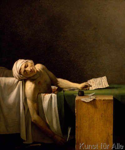 Jean Paul Marat - Der Tod des Marat