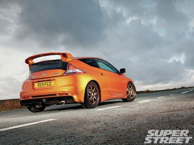 mugen honda crz rear view