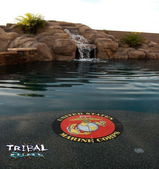 Az Swimming Pools: 17 Best Images About Tribal Waters Custom Pool Gallery On