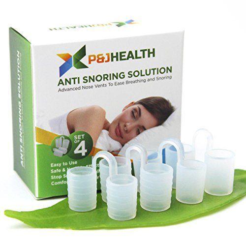 P & J Health – Advanced Nose Vents To Ease Breathing and Snoring: Arrêter de ronfler naturellement et instantanément: Les trous d'aération…