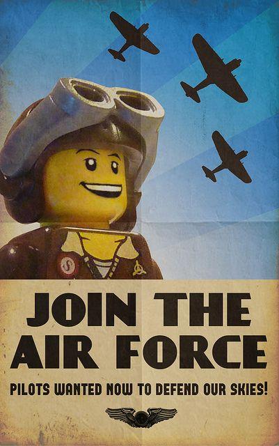 Recruitment Poster by JonHall18, via Flickr | Lego ...